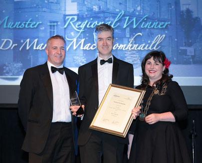 Dr Marcas MacDomhnaill Sensitive Dentist Munster Winner